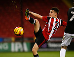 Thomas Charlesworth of Sheffield Utd during the U18 Professional Development League 2 play off semi final match at  Bramall Lane, Sheffield. Picture date: April 21st 2017. Pic credit should read: Simon Bellis/Sportimage