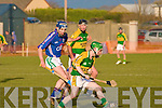 Action shots between Kerry V Water IT in the Waterford Crystal Munster Cup Senior Hurling 2009 in Abbeydorney on Sunday. ......