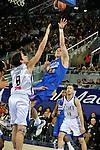 MADRID, Spain (22/01/11). Liga ACB de baloncesto, jornada 18, Real Madrid vs Asefa Estudiantes. Caja Magica...Jasen Pancho...©Raul Perez .