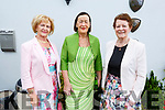 Margaret Gleasure, Aileen Callaghan and Treasa Collins attending the Spa Fenit Hospice annual Ladies Midsummer Lunch at the Oyster Tavern on Saturday.