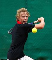 12-08-11, Tennis, Hillegom, Nationale Jeugd Kampioenschappen, NJK, Olger van Gent