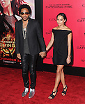 LOS ANGELES, CA - NOVEMBER 18: Lenny Kravitz and Zoe Kravitz arrives at   THE HUNGER GAMES: CATCHING FIRE L.A. Premiere held at Nokia Live  in Los Angeles, California on November 18,2012                                                                               © 2013  Hollywood Press Agency