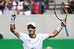 13/08/2016 - Mens singles Semi finals - Tennis Stadium - Olympic Park - Rio de Janeiro - Brazil