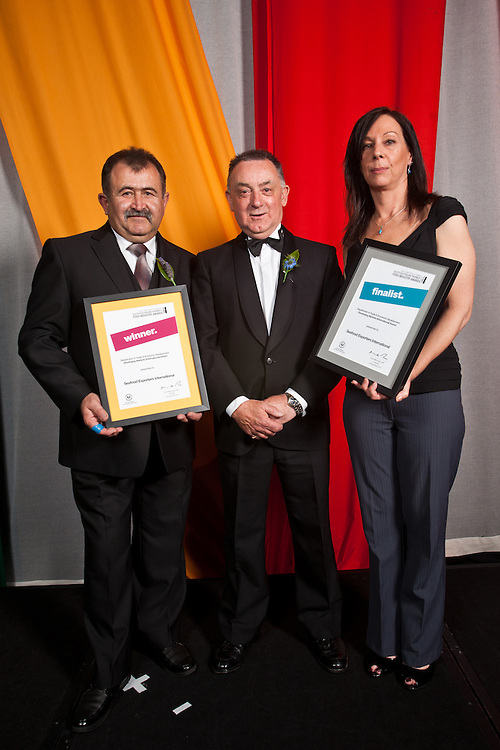 2010 Premiers Food Awards Dinner.Department of Trade and Econimic Development Developing Markets  International. Winner Seafood Exporters Australia.