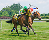 Regal Roma winning at Delaware Park on 6/25/16