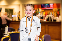 Young fan birthday 1912<br /> Re: Behind the Scenes Photographs at the Liberty Stadium ahead of and during the Premier League match between Swansea City and Bournemouth at the Liberty Stadium, Swansea, Wales, UK. Saturday 25 November 2017