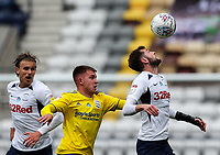 Preston North End's Tom Barkhuizen battles with Birmingham City's Caolan Boyd-Munce<br /> <br /> Photographer Alex Dodd/CameraSport<br /> <br /> The EFL Sky Bet Championship - Leeds United v Barnsley - Thursday 16th July 2020 - Elland Road - Leeds<br /> <br /> World Copyright © 2020 CameraSport. All rights reserved. 43 Linden Ave. Countesthorpe. Leicester. England. LE8 5PG - Tel: +44 (0) 116 277 4147 - admin@camerasport.com - www.camerasport.com<br /> <br /> Photographer Alex Dodd/CameraSport<br /> <br /> The EFL Sky Bet Championship - Preston North End v Birmingham City - Saturday 18th July 2020 - Deepdale Stadium - Preston<br /> <br /> World Copyright © 2020 CameraSport. All rights reserved. 43 Linden Ave. Countesthorpe. Leicester. England. LE8 5PG - Tel: +44 (0) 116 277 4147 - admin@camerasport.com - www.camerasport.com