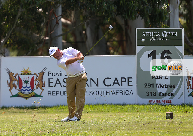 Unblemished round of 67 and a total of -10 for Damien McGrane (IRL) during Round Three of The Africa Open 2014 at the East London Golf Club, Eastern Cape, South Africa. Picture:  David Lloyd / www.golffile.ie
