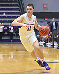 Holy Cross defeats Albany 69-65 in overtime in a nonconference game on November 20, 2018 at SEFCU Arena in Albany, New York.  (Bob Mayberger/Eclipse Sportswire)