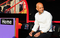 Exeter City manager Paul Tisdale prior to the game<br /> <br /> Photographer Chris Vaughan/CameraSport<br /> <br /> The EFL Sky Bet League Two Play Off Second Leg - Exeter City v Lincoln City - Thursday 17th May 2018 - St James Park - Exeter<br /> <br /> World Copyright &copy; 2018 CameraSport. All rights reserved. 43 Linden Ave. Countesthorpe. Leicester. England. LE8 5PG - Tel: +44 (0) 116 277 4147 - admin@camerasport.com - www.camerasport.com