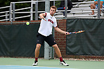 CHAPEL HILL, NC - MAY 12: South Carolina's Alex Fennell. The University of South Carolina Gamecocks played the East Tennessee State University Buccaneers on May 12, 2017, at The Cone-Kenfield Tennis Center in Chapel Hill, NC in an NCAA Division I Men's College Tennis Tournament first round match. South Carolina won 5-0.