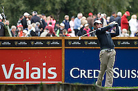 ROry McIlroy (NIR) on the 6th during the final day of the Omega European Masters, Crans-Sur-Sierre, Crans Montana, Switzerland.4/9/11.Picture: Golffile/Fran Caffrey..