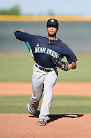 Seattle Mariners pitcher Trey Cochran-Gill (26) during an Instructional League game against the Cleveland Indians on October 1, 2014 at Goodyear Training Complex in Goodyear, Arizona.  (Mike Janes/Four Seam Images)
