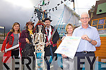 Preparations are well underway for Portmagee's Annual Sea Shanty & Pirate Festival on this weekend with music, fancy dress, treasure hunts and much much more pictured here l-r; were Caroline Kennedy, Helen Farmer, Declan O'Donoghue, Deirdre Moran & Gerard Kennedy.