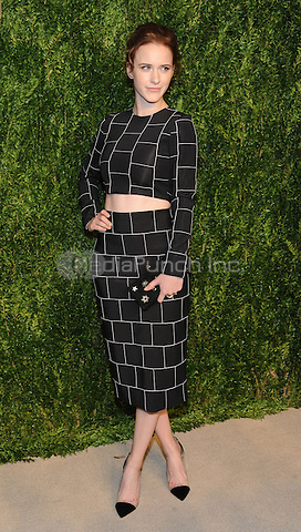 NEW YORK, NY - NOVEMBER 07:  Rachel Brosnahan attends 13th Annual CFDA/Vogue Fashion Fund Awards at Spring Studios on November 7, 2016 in New York City. Photo by John Palmer/MediaPunch