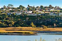 Upper Newport Bay in Newport Beach California