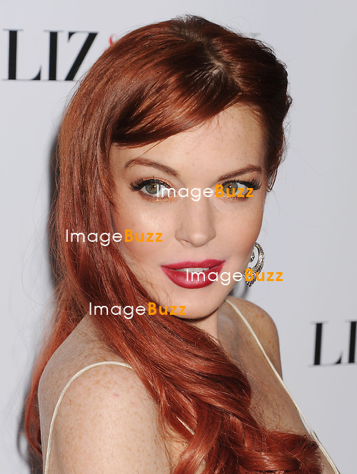 Lindsay Lohan, Lifetime's Premiere for Liz & Dick at the Beverly Hills Hotel in Beverly Hills. Los Angeles, November 20, 2012.