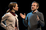 Lidia Navarro and Fernando Ramallo during the theater play of Un Dios Salvaje at Nuevo Teatro Apolo in Madrid. March 09, 2016. (ALTERPHOTOS/BorjaB.Hojas)