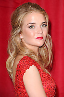 Lorna Fitzgerald<br /> arrives for the British Soap Awards 2016 at Hackney Empire, London.<br /> <br /> <br /> &copy;Ash Knotek  D3124  28/05/2016