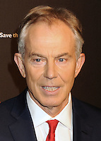 NEW YORK CITY, NY, USA - NOVEMBER 19: Tony Blair arrives at the 2nd Annual Save the Children Illumination Gala held at the Plaza Hotel on November 19, 2014 in New York City, New York, United States. (Photo by Celebrity Monitor)