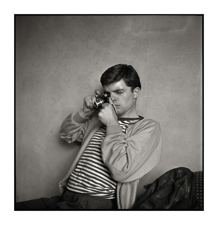 Guy Bourdin, autoportrait 1954<br /> -----<br /> Guy Bourdin, self-portrait 1954