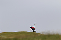 Haydn Porteous (RSA) plays his 2nd shot on the 6th hole during Thursday's Round 1 of the Dubai Duty Free Irish Open 2019, held at Lahinch Golf Club, Lahinch, Ireland. 4th July 2019.<br /> Picture: Eoin Clarke | Golffile<br /> <br /> <br /> All photos usage must carry mandatory copyright credit (© Golffile | Eoin Clarke)