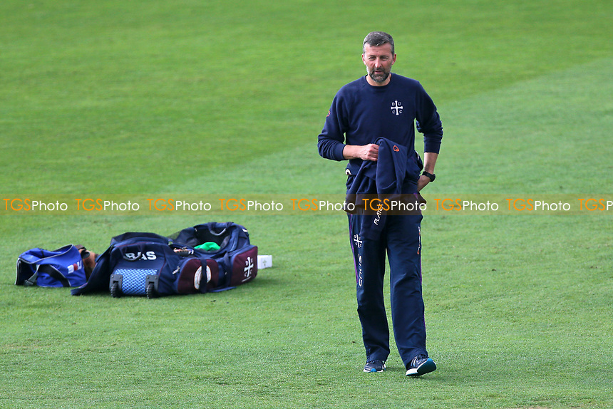 Durham MCCU coach Paul Grayson during Essex CCC vs Durham MCCU, English MCC University Match Cricket at The Cloudfm County Ground on 4th April 2017