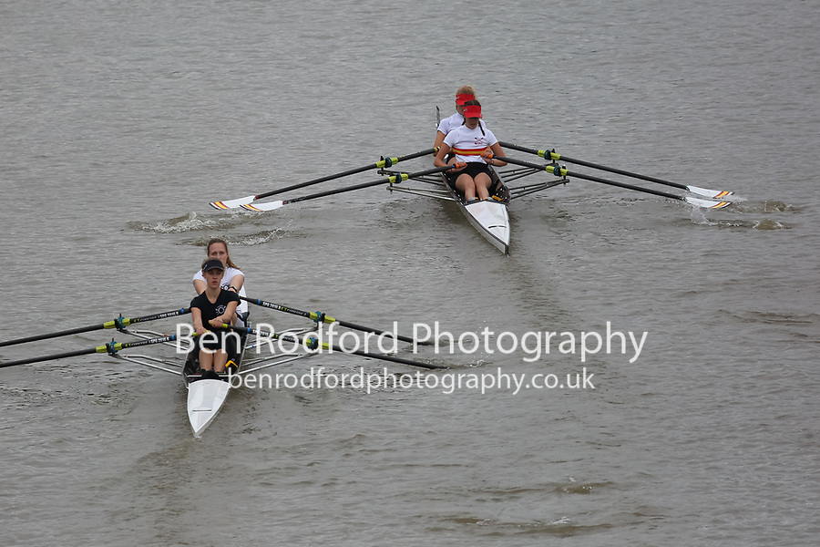 Crew: 336   MED-COULL    Medway Towns Rowing Club    W J18 2x Club <br /> Crew: 337   SPG-STRONG    St Pauls Girls School Boat Club    W J18 2x Club <br /> <br /> Pairs Head 2017<br /> <br /> To purchase this photo, or to see pricing information for Prints and Downloads, click the blue 'Add to Cart' button at the top-right of the page.