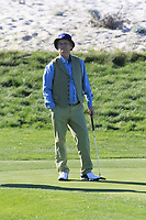 Bill Murray at the 3rd green at Spyglass Hill during Thursday's Round 1 of the 2018 AT&amp;T Pebble Beach Pro-Am, held over 3 courses Pebble Beach, Spyglass Hill and Monterey, California, USA. 8th February 2018.<br /> Picture: Eoin Clarke | Golffile<br /> <br /> <br /> All photos usage must carry mandatory copyright credit (&copy; Golffile | Eoin Clarke)