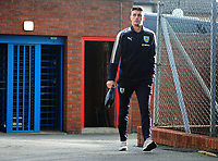 Burnley's Matthew Lowton arrives at Selhurst park <br /> <br /> Photographer Ashley Crowden/CameraSport<br /> <br /> The Premier League - Crystal Palace v Burnley - Saturday 13th January 2018 - Selhurst Park - London<br /> <br /> World Copyright &copy; 2018 CameraSport. All rights reserved. 43 Linden Ave. Countesthorpe. Leicester. England. LE8 5PG - Tel: +44 (0) 116 277 4147 - admin@camerasport.com - www.camerasport.com