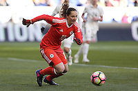 HARRISON, NJ, 04.03.2017 - FRANÇA-ALEMANHA - Laura Benkarth goleira da Alemanha durante partida contra a Franca valido pelo 2017 She Believes Cup na cidade de Harrison em New Jersey neste sábado, 4. (Foto: Vanessa Carvalho/Brazil Photo Press/Brazil Photo Press)