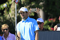 Thomas Aiken (RSA) prepares to tee off the 11th tee during Thursday's Round 1 of the 2018 Turkish Airlines Open hosted by Regnum Carya Golf &amp; Spa Resort, Antalya, Turkey. 1st November 2018.<br /> Picture: Eoin Clarke | Golffile<br /> <br /> <br /> All photos usage must carry mandatory copyright credit (&copy; Golffile | Eoin Clarke)