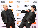 Jason Sudeikis and Ed Harris attend the 'Kodachrome' Premiere during the 2017 Toronto International Film Festival at Princess of Wales Theatre on September 8, 2017 in Toronto, Canada.