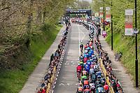 peloton snaking up the Cauberg<br /> <br /> 52nd Amstel Gold Race (1.UWT)<br /> 1 Day Race: Maastricht &rsaquo; Berg en Terblijt (264km)