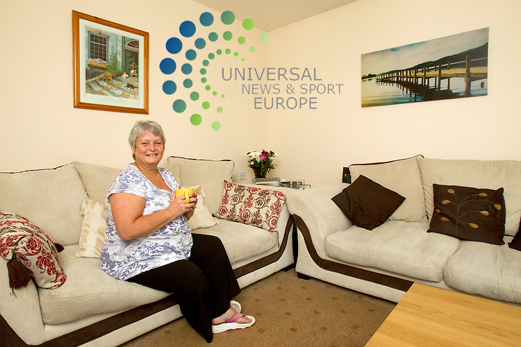 Mary Murphy - 2E Cowal Drive Linwood PA3 3JH..Picture: Universal News And Sport (Europe) 29 September 2011.