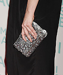 HOLLYWOOD, CA - OCTOBER 21: Actress Sarah Silverman, handbag detail, at the premiere of Broad Green Pictures' 'I Smile Back' at ArcLight Cinemas on October 21, 2015 in Hollywood, California.