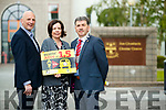 Brendan Kennelly, Kerry's Eye, CEO of Kerry County Council Moira Murrell and Mayor of Kerry, Michael O'Shea, pictured at the launch of the Stayin' Alive at 1.5 campaign.