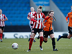 Jade Pennock of Sheffield Utd during the The FA Women's Championship match at the Proact Stadium, Chesterfield. Picture date: 8th December 2019. Picture credit should read: Simon Bellis/Sportimage