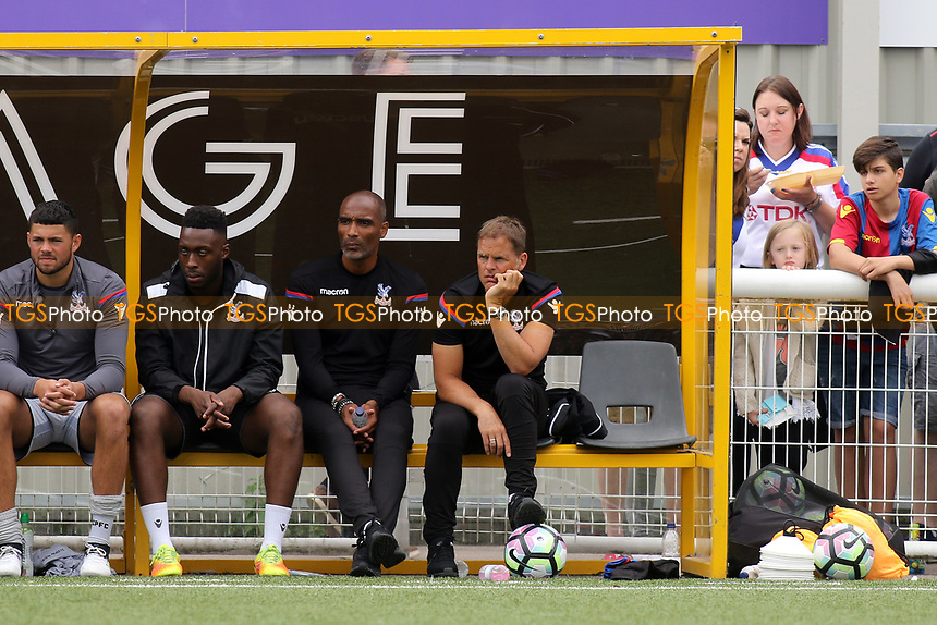 Crystal Palace Manager, Frank De Boer looks on during Maidstone United  vs Crystal Palace, Friendly Match Football at the Gallagher Stadium on 15th July 2017