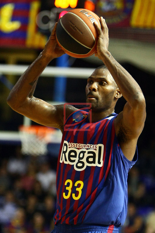 Pete Mickael. FC Barcelona Regal vs Bizkaia Bilbao Basket: 91-72 (League ACB/Endesa 2011/12-Season: 4)
