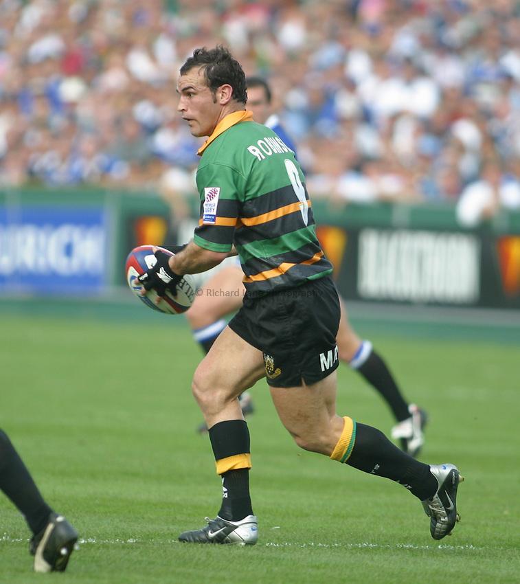 Photo: Jo Caird.Bath v Northampton.Zurich Premiership 2003/4.20/09/2003....Mark Robinson
