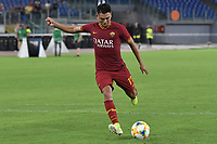 Cengiz Under of AS Roma <br /> Roma 11/08/2019 Stadio Stadio Olimpico Football friendly match pre season 2019/2020 AS Roma - Real Madrid <br /> Mabel Green Cup Trophy <br /> Foto Andrea Staccioli / Insidefoto