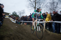 still a crowd favorite: Alexander 'Moustache' Revell (NZL)<br /> <br /> GP Sven Nys 2014