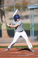 Ivan Keil (49), from Anchorage, Alaska, while playing for the Tigers during the Under Armour Baseball Factory Recruiting Classic at Red Mountain Baseball Complex on December 29, 2017 in Mesa, Arizona. (Zachary Lucy/Four Seam Images)