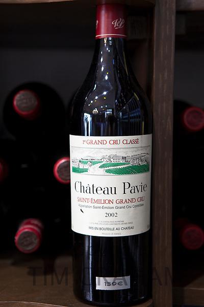 Chateau Pavie Saint Emilion 1er Grand Cru Classe vintage 2002 fine wine on sale, St Emilion, Bordeaux, France