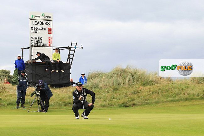 Jamie Donaldson (WAL) on the 16th on Day 3 of the 2012 Irish Open at Royal Portrush Golf Club, Portrush, Co.Antrim, 30/6/12...(Photo Jenny Matthews/www.golffile.ie)