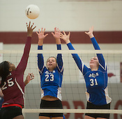 Springdale vs. Rogers volleyball Thursday Sept. 3, 2015