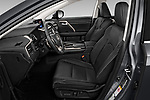 Front seat view of a 2020 Lexus RX 350 5 Door SUV front seat car photos