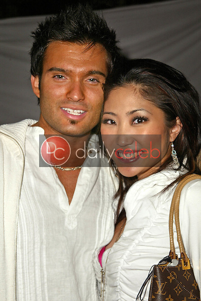 Diego Varas and Jelynn Rodriguez<br /> at Maria Conchita Alonso's Surprise Birthday Party, Private Residence, Los Angeles, CA 06-25-05<br /> David Edwards/DailyCeleb.Com 818-249-4998<br /> EXCLUSIVE