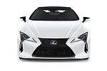 Car photography straight front view of a 2018 Lexus RX 350L 4x2 Select Doors Door SUV